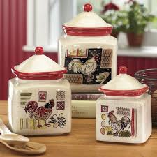 rooster canisters kitchen products 330 best kitchen cannisters images on kitchen