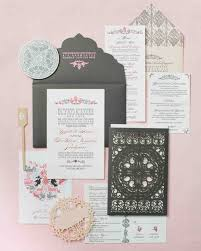 Wedding Invitations In Spanish Destination Inspired Wedding Invitations Martha Stewart Weddings