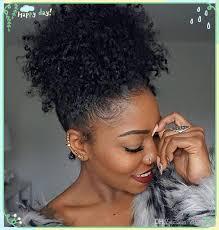 short ponytails for short african american hair fashion human curly hair ponytail african american afro short