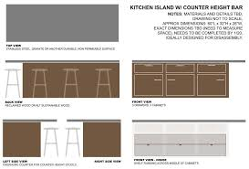 bar height kitchen base cabinets hacker help varde base cabinet into an breakfast bar island
