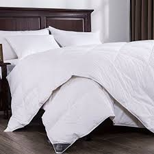 Washing A Down Comforter At Home Amazon Com Puredown Lightweight Down Comforter Light Warmth Duvet