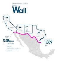Us Mexico Map Trumps Border Wall Explained Mexico Al Jazeera United States