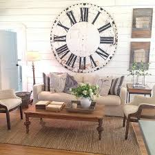 Wall Clock For Living Room by Best 25 Oversized Clocks Ideas On Pinterest Designer Wall