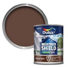 dulux weathershield exterior hazelnut truffle satin wood u0026 metal