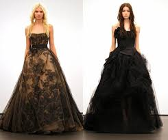 vera wang bridal and the black wedding dress the fashion foot