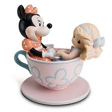 precious moments figurine you are my cup of tea tea cup