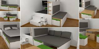 Space Saving Furniture For Small Bedrooms by Space Saving Furniture For Small Spaces Japalang Blog
