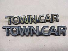 town car lincoln emblems ebay
