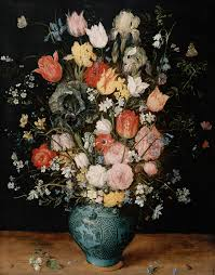 Bouquet Of Flowers In Vase File Jan Brueghel I Bouquet Of Flowers In A Blue Vase Jpg