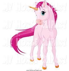 royalty free stock horse designs of unicorns