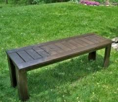 Plans For Making A Wooden Bench by Cedar Patio Tables Foter
