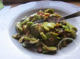 cuisiner les f钁es fraiches ragoût de fèves fraîches accrogourmandise