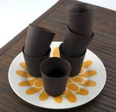 edible chocolate cups to buy cannoli filled chocolate dessert cups desserts