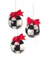 mackenzie childs three jester fancies small ornaments
