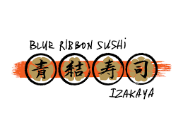 logo ribbon blue ribbon sushi bromberg bros blue ribbon restaurants