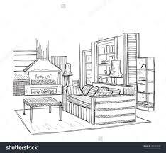 interior architectural designs sketches reading room sketch idolza
