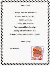 top thanksgiving poem for preschoolers free quotes poems