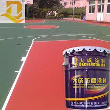 Red Floor Paint Anti Slip Floor Paint For Basketball Court Anti Slip Floor Paint