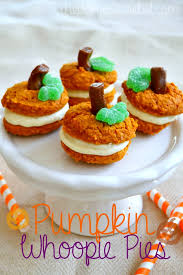 pumpkin whoopie pies with cheese frosting the domestic rebel