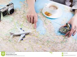 travel planning images Planning travel trip holiday stock photo image of compass jpg