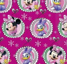minnie mouse christmas wrapping paper disney minnie mouse duck christmas wrapping paper 60 sq ft