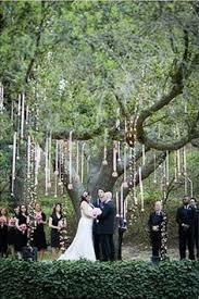 tree decorations for wedding ceremony oak tree elopement