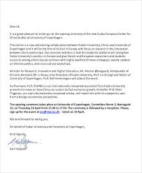 doc event invitation letter template u2013 doc12751650 business