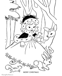 free kid u0027s christmas coloring pages merry christmas