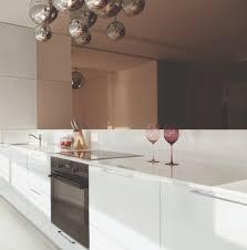 credence cuisine miroir crédence de cuisine sur mesure miroir