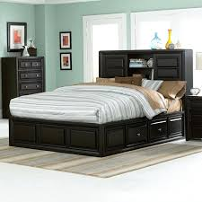 stunning queen platform storage bed with headboard headboard