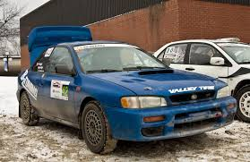 subaru hatchback custom rally 1995 subaru impreza coupe open class