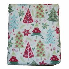 mainstays flannel tree sheet set bed size sheets