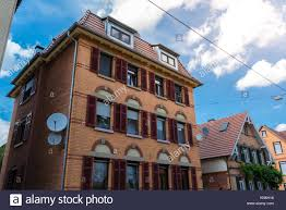 traditional european houses old german red tile roof stock photos u0026 old german red tile roof