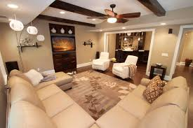 open floor plans with basement basement remodel family room contemporary with home bar white