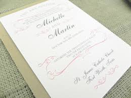 catholic wedding invitations wedding invitation wording every last detail