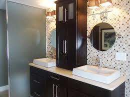 contemporary bathroom storage