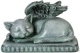 cat memorial cat memorial angel statue plaque for remembering your beloved