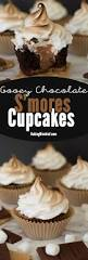 gooey chocolate s u0027mores cupcakes recipe marshmallow frosting