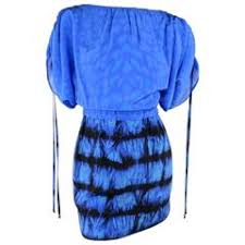 roberto cavalli sapphire blue red carpet goddess gown for sale at