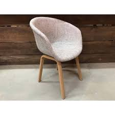 scandinavian bucket chair with grey fabric canada dining