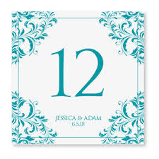 wedding table number card template instant by diyweddingtemplates