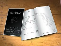 Quarter Turn Stairs Design Staircase Plan Layout Drawings