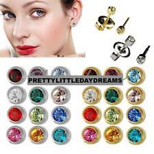 sterilized ear piercing studs ear piercing gold ebay