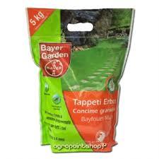 concimazione tappeto erboso bayer concime per prato bayfolan multi 5kg prato agropointshop