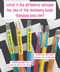 Office Stationery Online South Africa Labels Inc Personalised Labels
