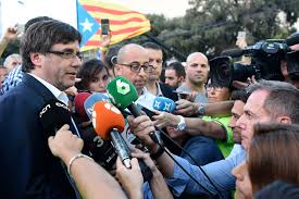 spain plans response to catalan independence move breaking now
