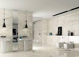black marble bathroom rectangular metal chrome frame glass mirror