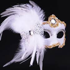 feather mask feather mask party princess half mask painted lace