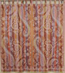 paisley curtain panels from india u2013 stylish window coverings with