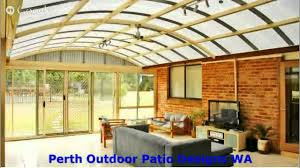 Patio Roofs Designs Perth Outdoor Patio Roofing Ideas
